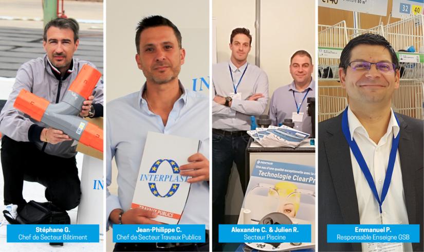 Tous les experts chez INTERPLAST sont formés et disponibles pour répondre à vos besoins.