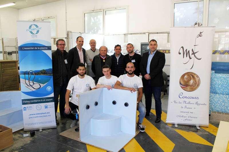 Photo du concours MEILLEURS APPRENTIS DE FRANCE - secteur piscine
