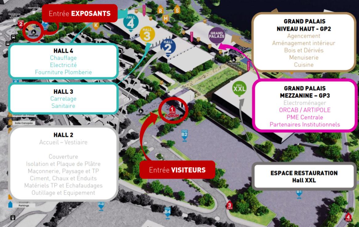 Image Plan général Salon ORCAB 2019