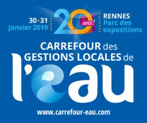 Visuel invitation Carrefour des gestions Locales de l Eau INTERPLAST FITT MC