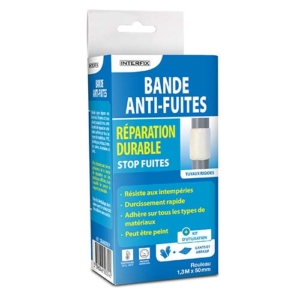 Photo Bande anti-fuites - bande de réparation 1,3M x 50mm