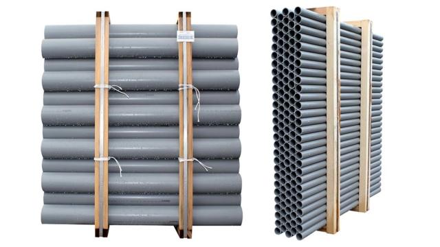 Photos de tubes PVC évacuation Interplast