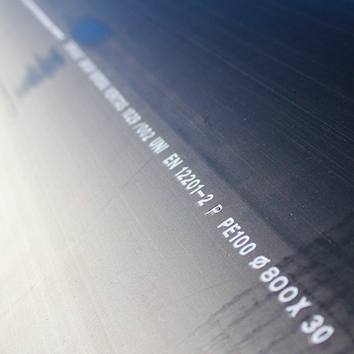 Photo de Tubes PE pour émissaire eaux pluies 4 - Chantier Interplast