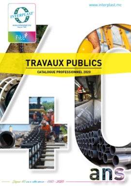 Catalogue travaux publics 2020 Interplast