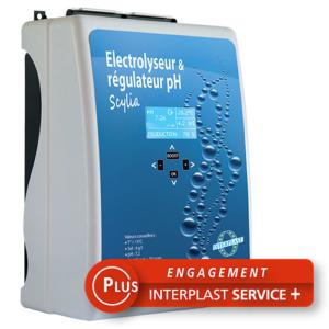 Image Scylia DUO pour électrolyse et Régulation PH - Piscine Interplast