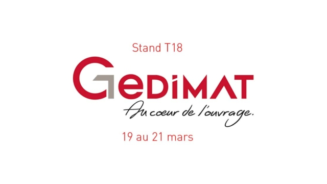 Image illustration invitation apéritif nouveautés salon GEDIMAT - INTERPLAST