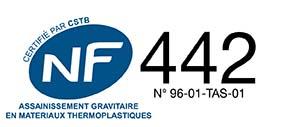 logo norme NF 442