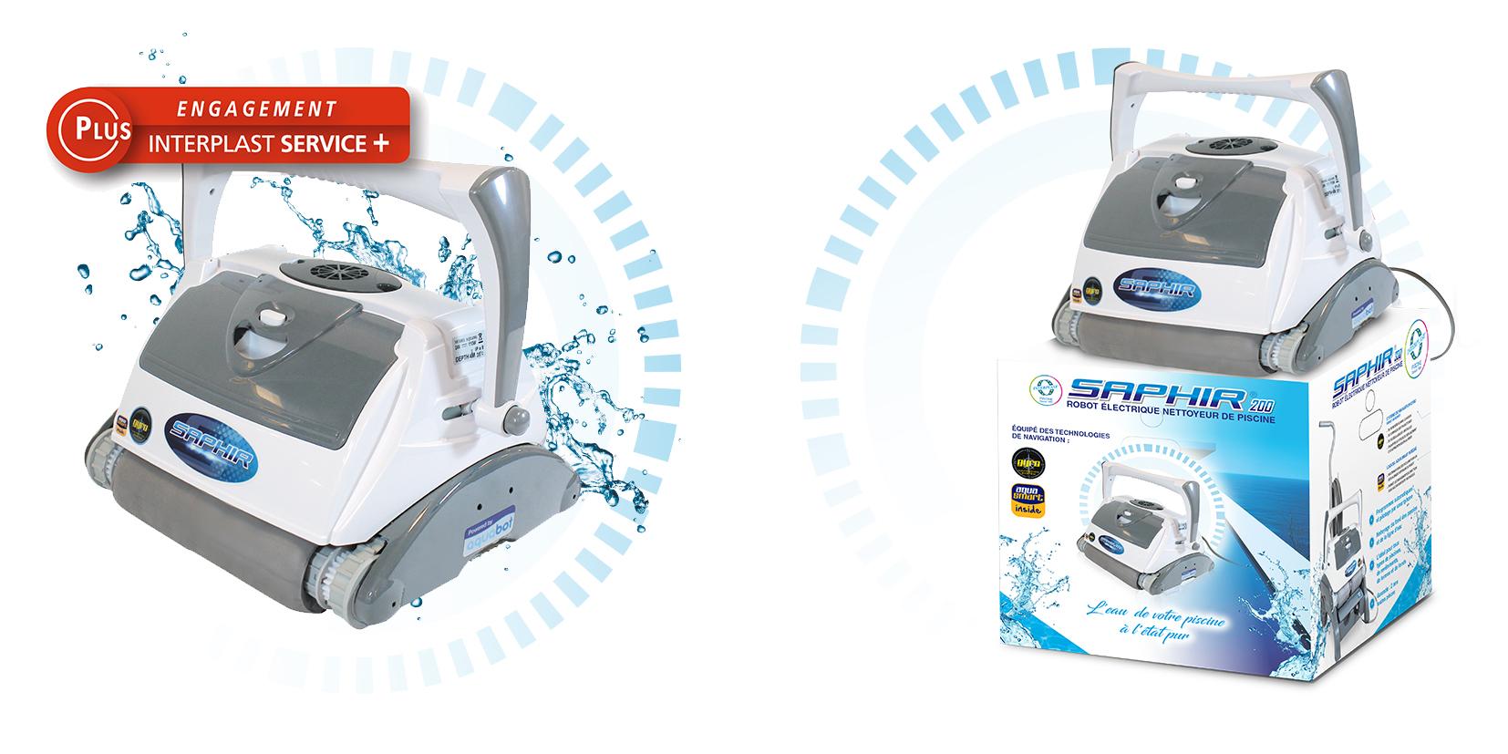 image robots électrique saphir 200